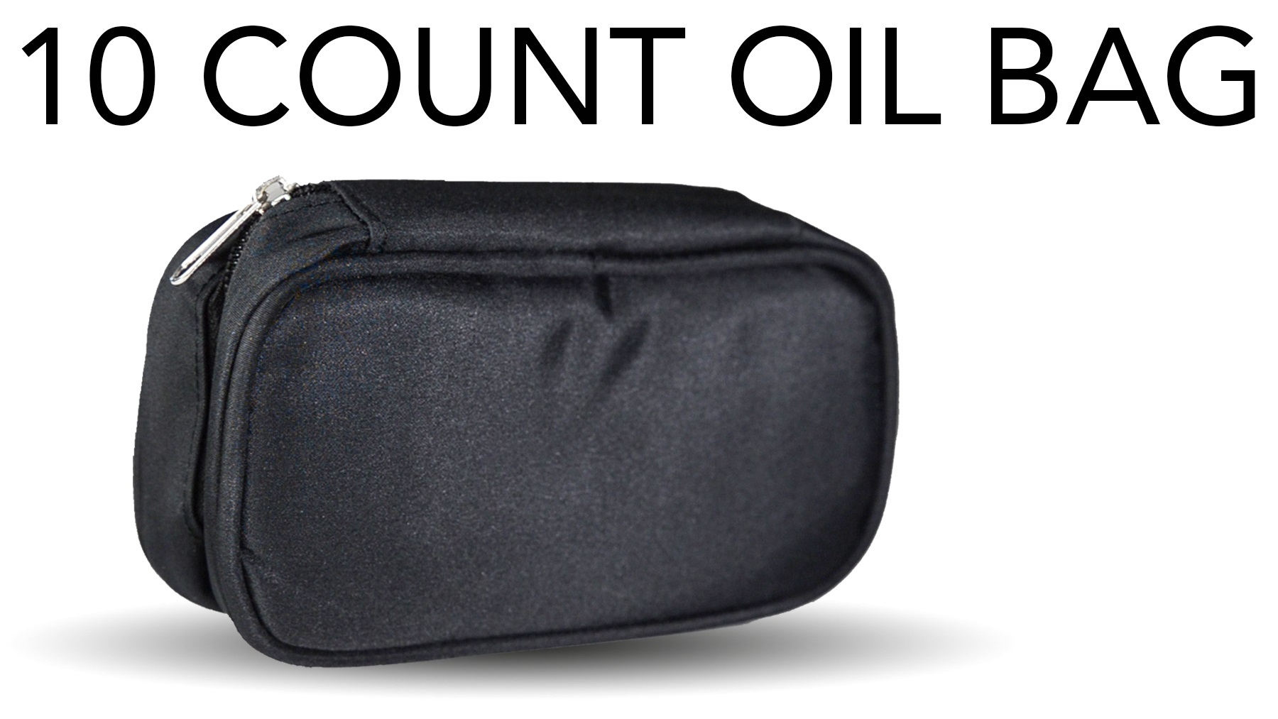 10 count oil carry case black