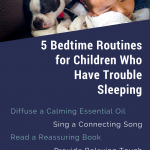 bedtime routines trouble sleeping children