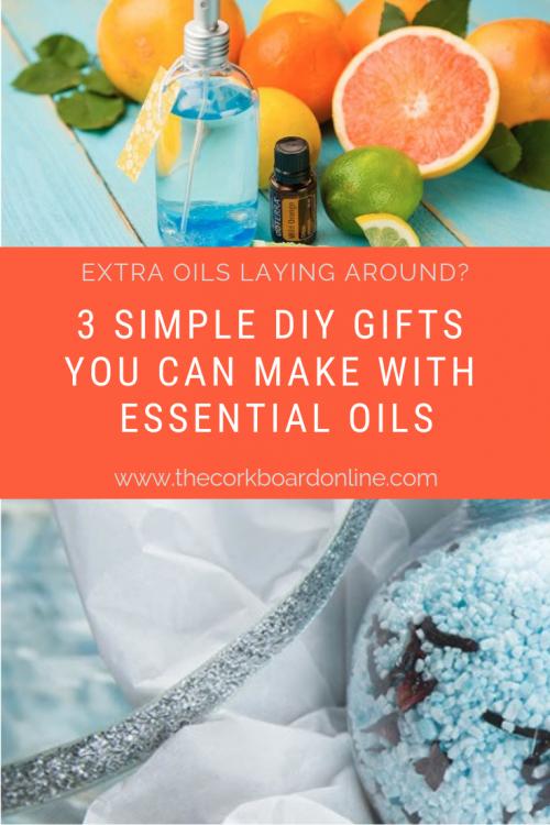 DIY Simple Essential Oil Gift