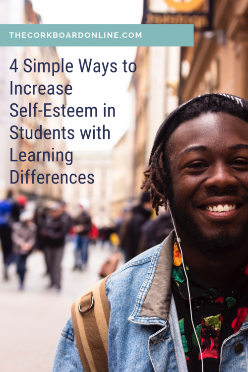 self-esteem learning differences