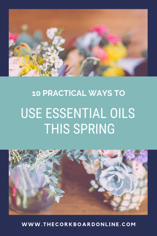 essential oils, spring