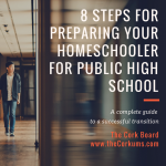 homeschool transition public high school